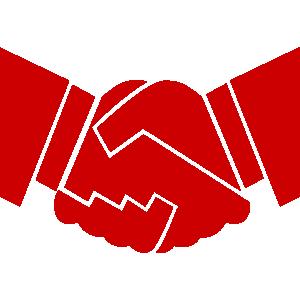 Handshake-Red